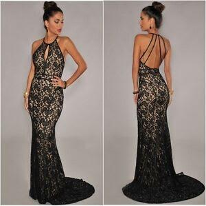 Maxi dress evening gown