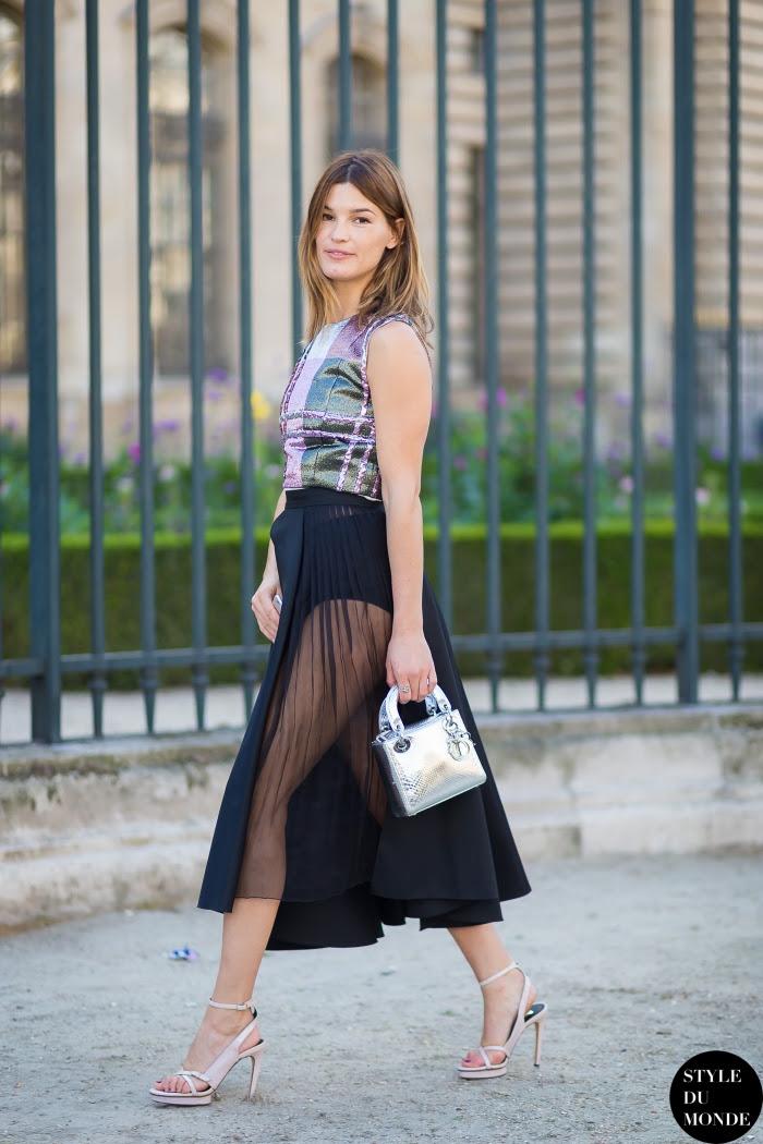 Hanneli Mustaparta Street Style Street Fashion Streetsnaps by STYLEDUMONDE Street Style Fashion Blog