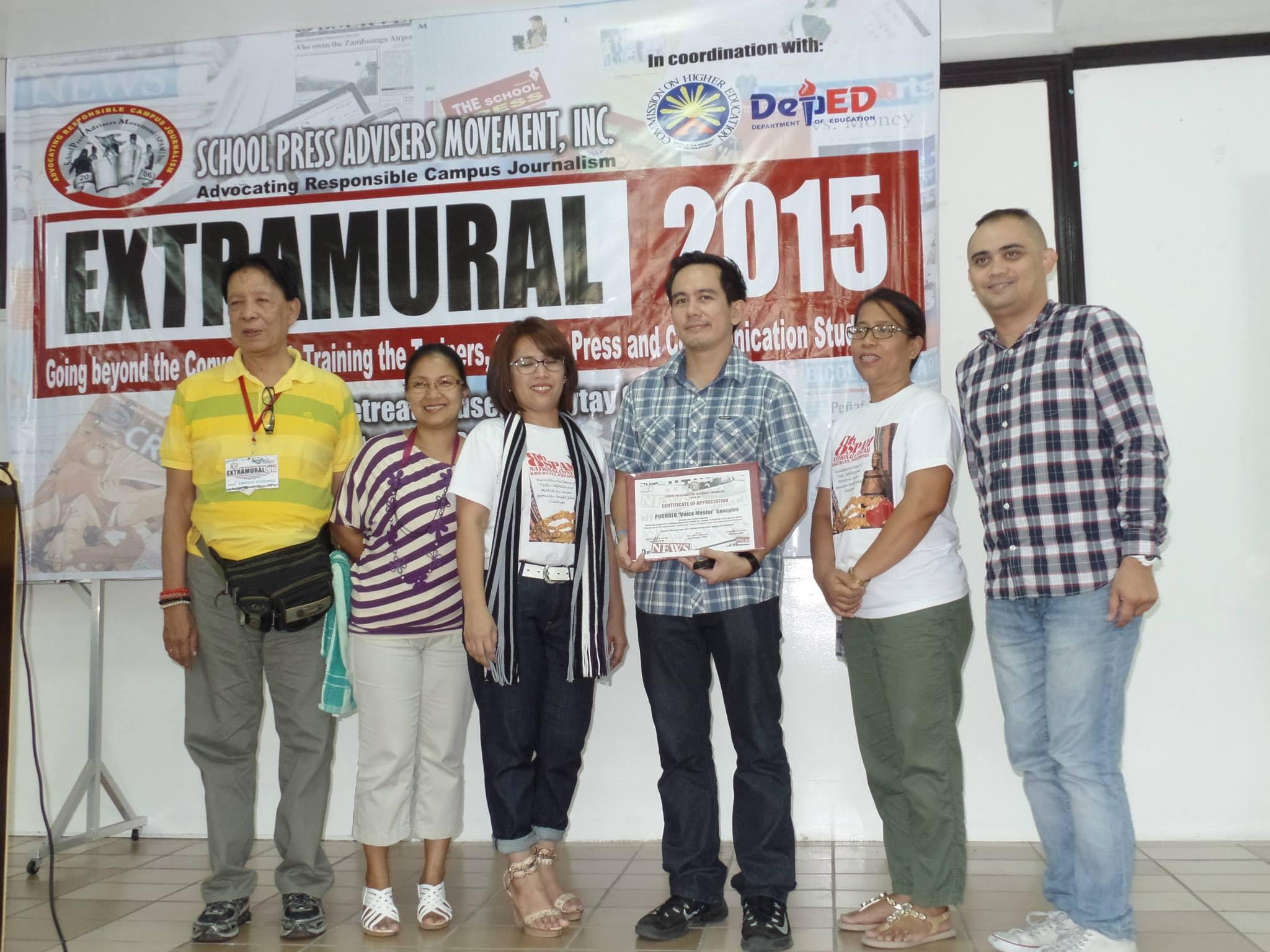The VoiceMaster as Keynote Speaker in Extramural 2015