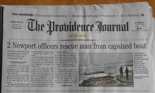 pro jo june 20 2009 Newport rescue