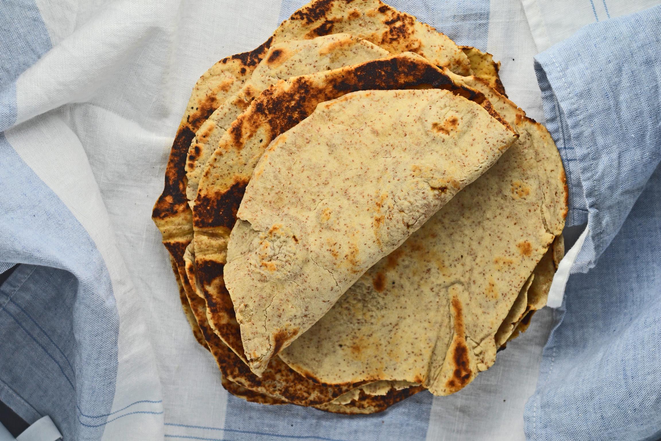 Gluten Free Flat Bread: Whole Grain Gluten Free Tortillas