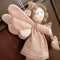 Ангел из ткани своими руками1