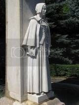 granite statue for the adult women and Pilgrim mothers of Plymouth Colony