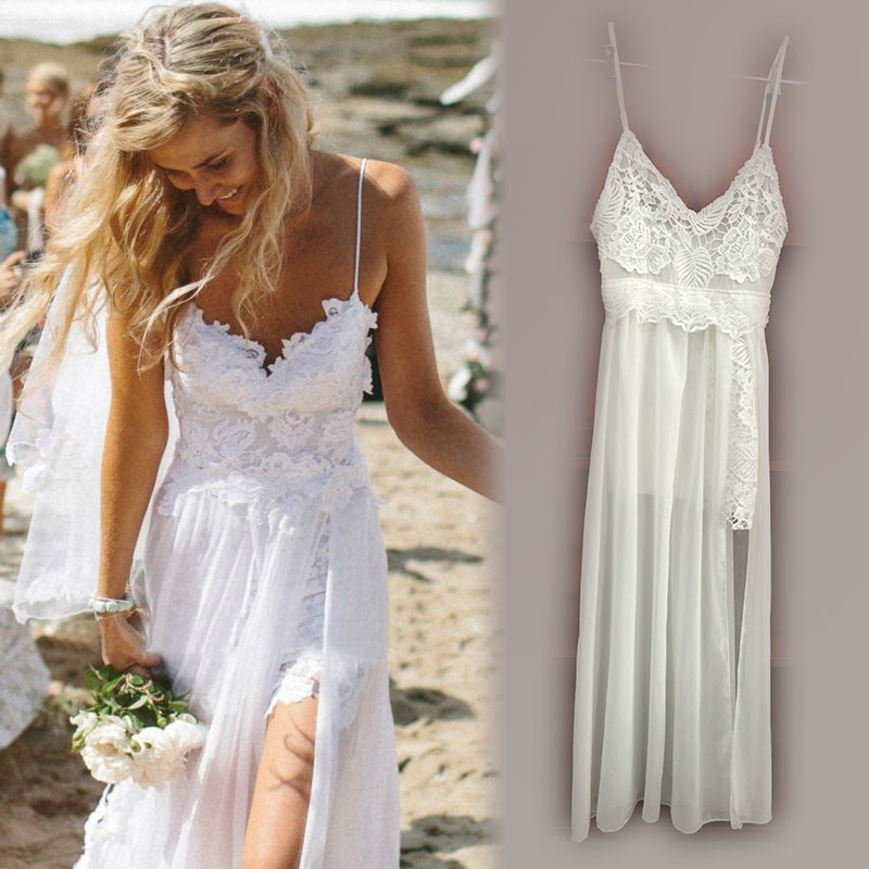 womens summer dresses 2015 white lace maxi dress long