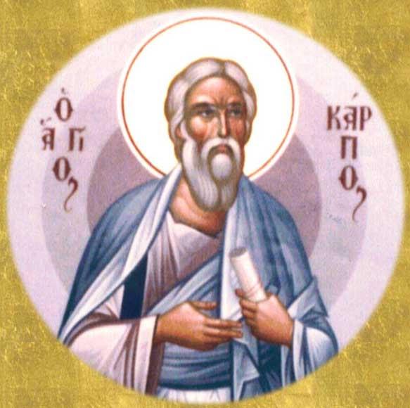 IMG ST.. CARPUS, Apostle