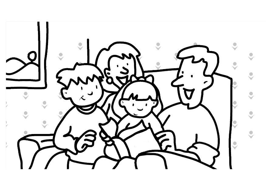 940 Printable Coloring Pages About Family Download Free Images
