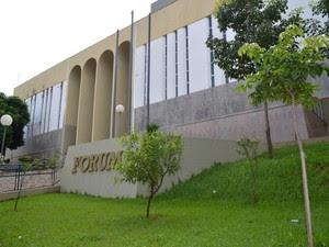 Colete a prova de balas é furtado dentro do Fórum de Piracicaba (Foto: Fernanda Zanetti/G1)