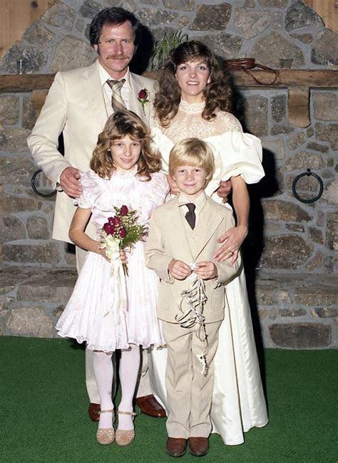 Dale Earnhardt and Teresa Houston wedding November of 1982