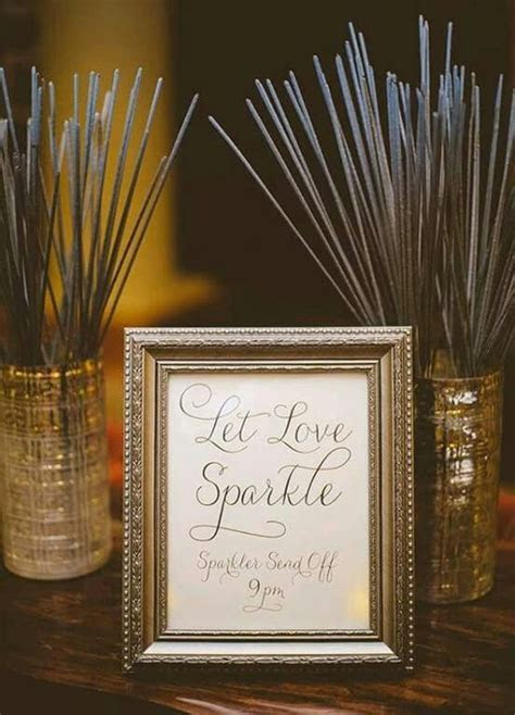 Have to have sparklers at my wedding   wedding wants