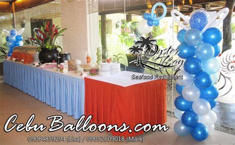 Balloon Decoration Packages   Cebu Balloons and Party Supplies