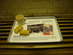 rubble clearing canteen ministry of food iwm london