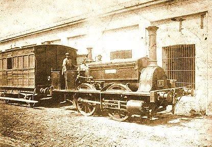 Resultado de imagen para locomotora la porteña