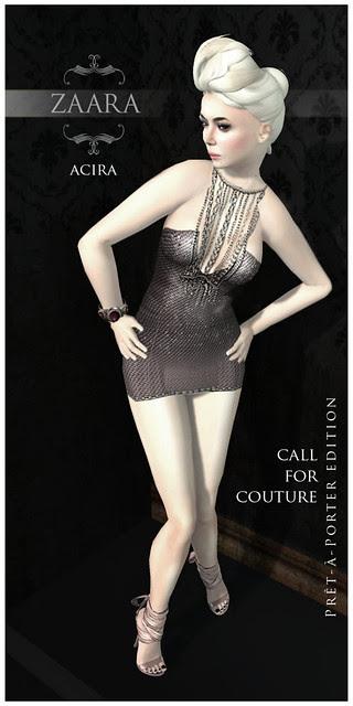Zaara : Acira for Call for Couture (prêt-à-porter edition)