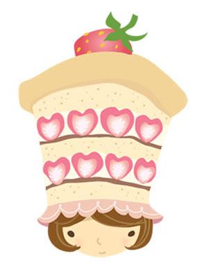 strawberry shortcake girl