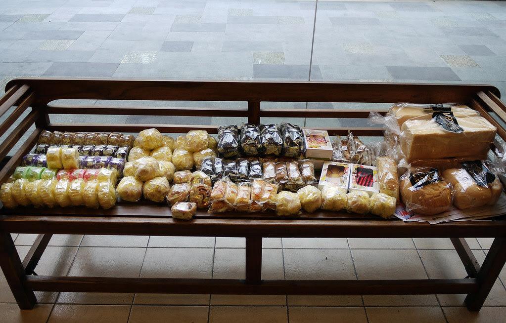bakery bench