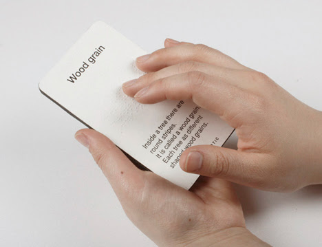 Hello Haptic Flash Cards for the Blind by Rhea Jeong, YoungSoo Hong, Sun Min Lee and Sae Hee Lee of Samsung Design Membership