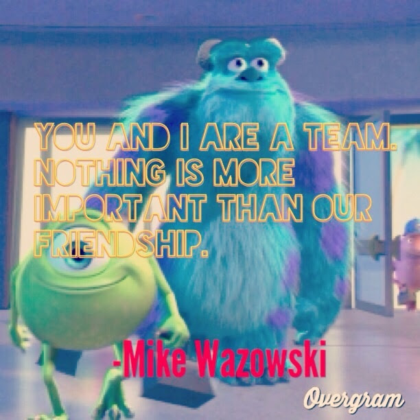 Friendship Quotes From Monsters Inc. QuotesGram