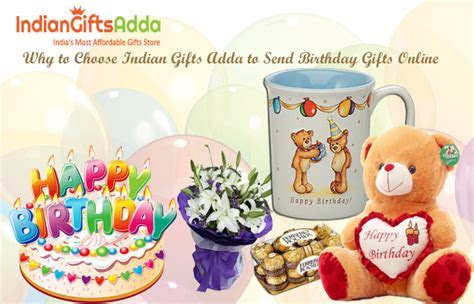 Why to Choose Indian Gifts Adda to Send Birthday Gifts