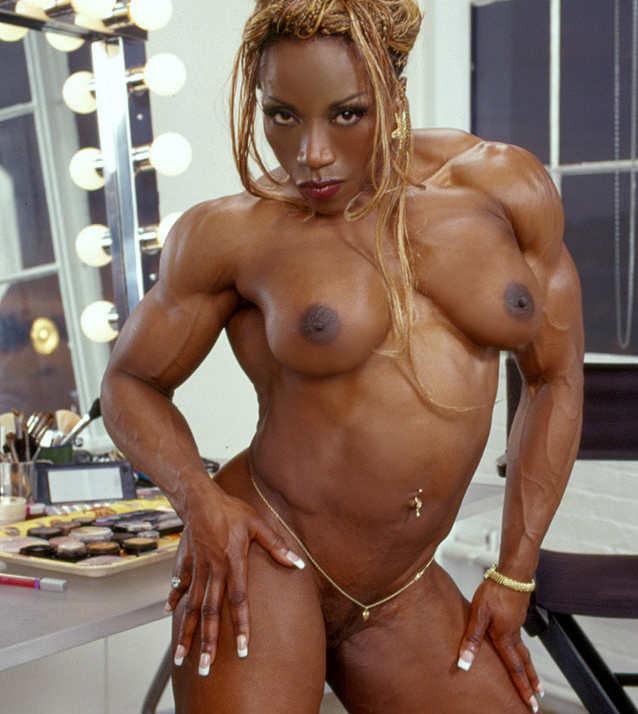 free black musle woman porn