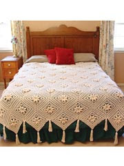 Curlicue Heirloom Coverlet Pattern