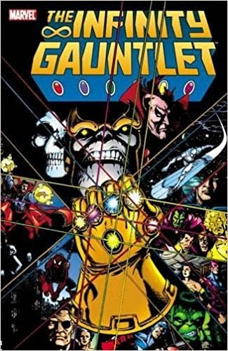 Thanos Infinity Gauntlet Comic Book