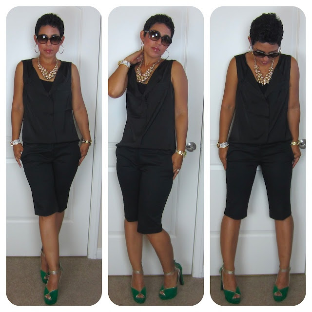 Today's Look: Black on Black  www.mimigstyle.com