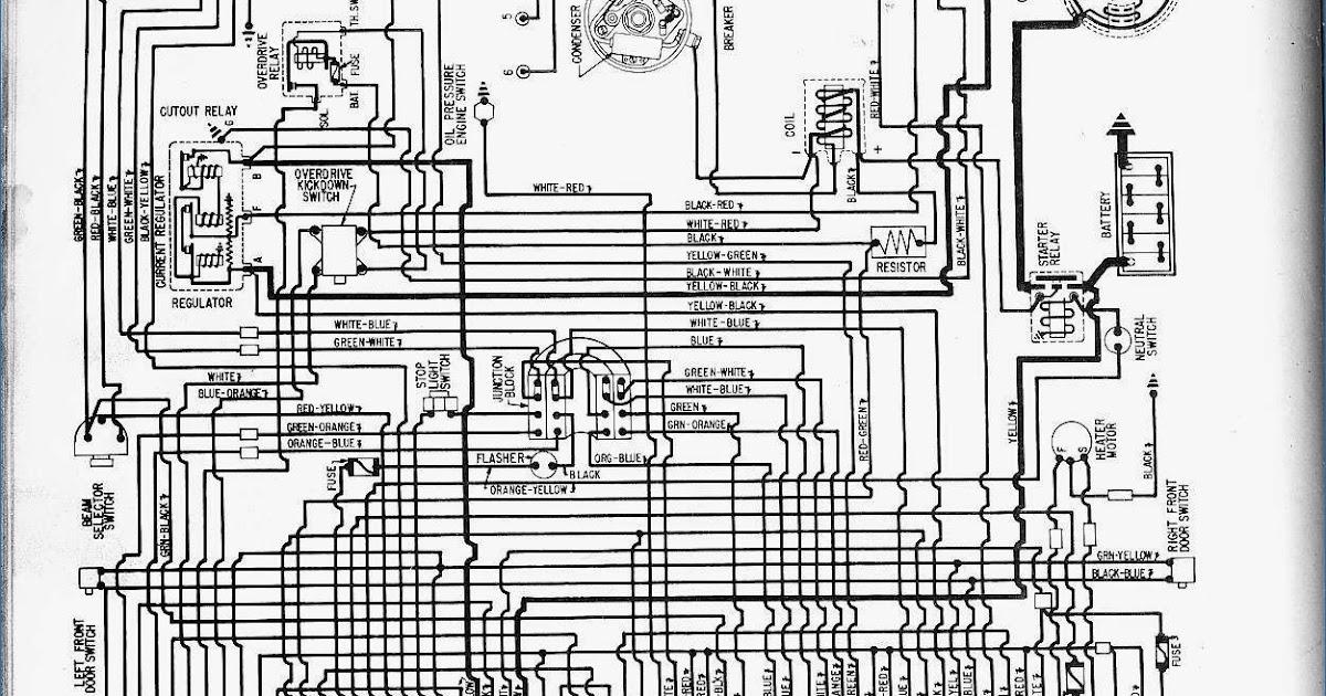 1957 Corvette Wiring Diagram