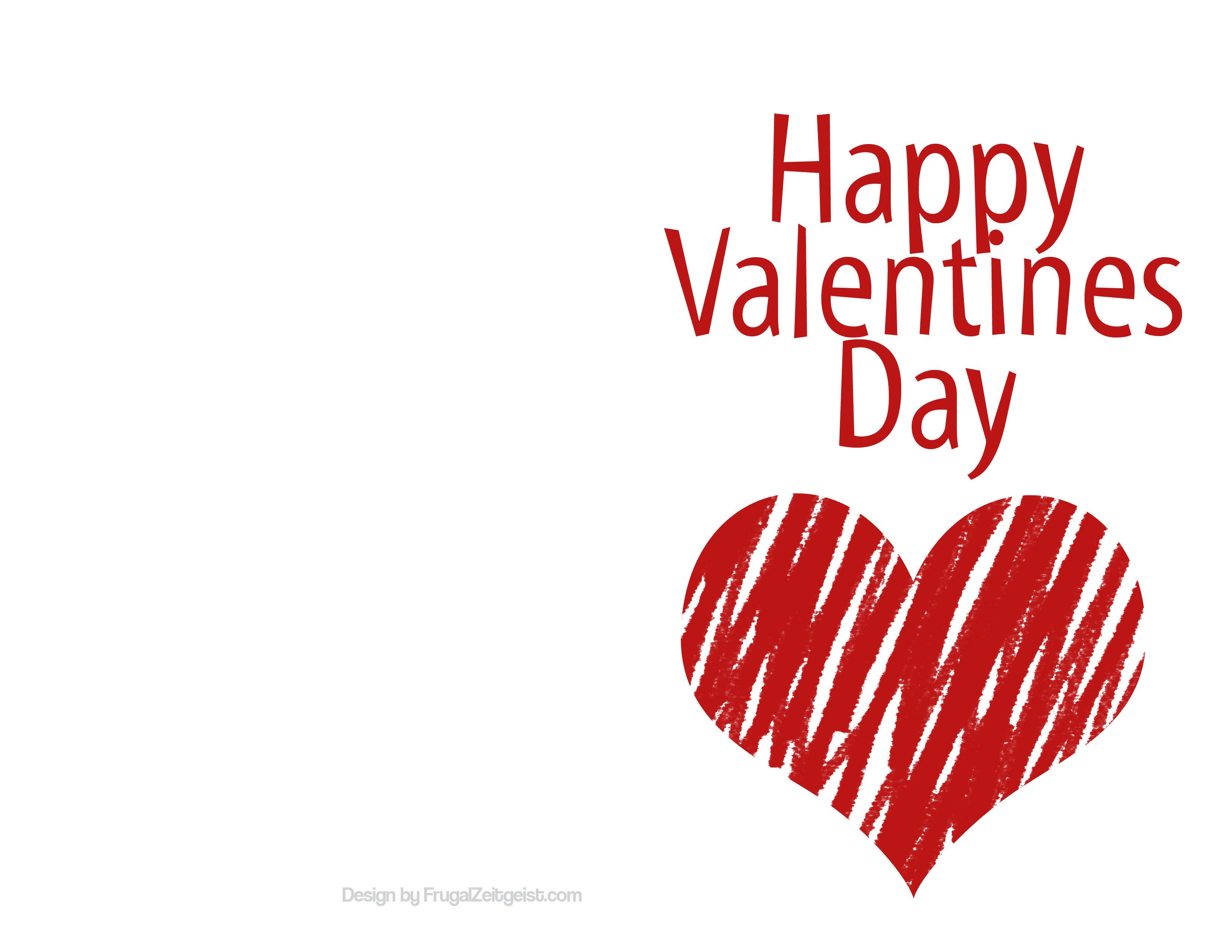 Valentine Card Design Free Blank Valentine Card Templates