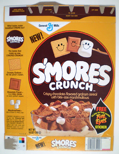 1985 General Mills S'Mores Crunch Cereal Box Series 5