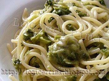 [ Spaghetti Verza e Gorgonzola ]