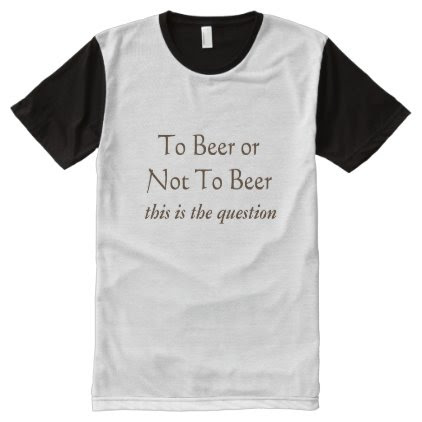 To beer or not to beer Men's American Shirt