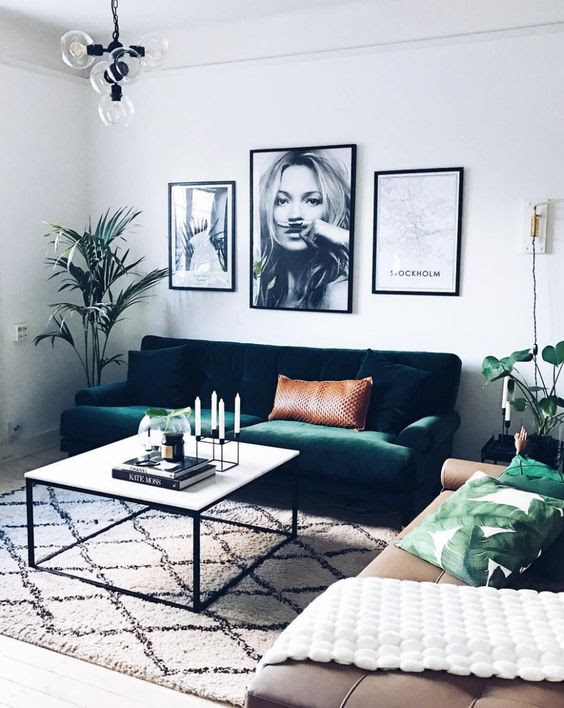 30 Trendy Velvet Furniture And Home Décor Ideas - DigsDigs