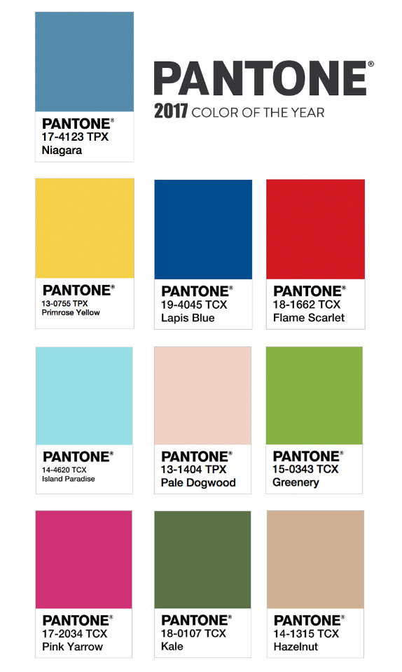 Image result for pantone colors of the year 2017