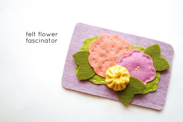 flower fascinator