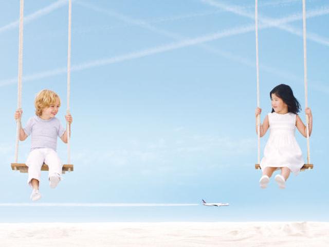 Air journal visuel Air France Air France lance une nouvelle campagne  de pub