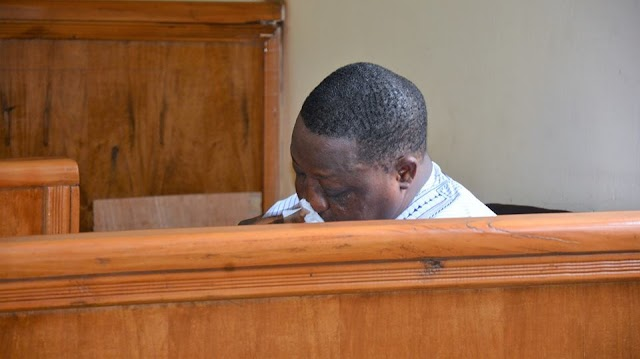 Again The Brave Justice Adebukola Shows No Mercy As Senator Dariye Weeps For Bagging 14 Years In Prison For Corruption