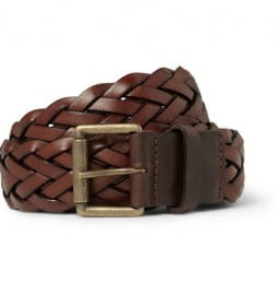 Ami Woven Leather Belt