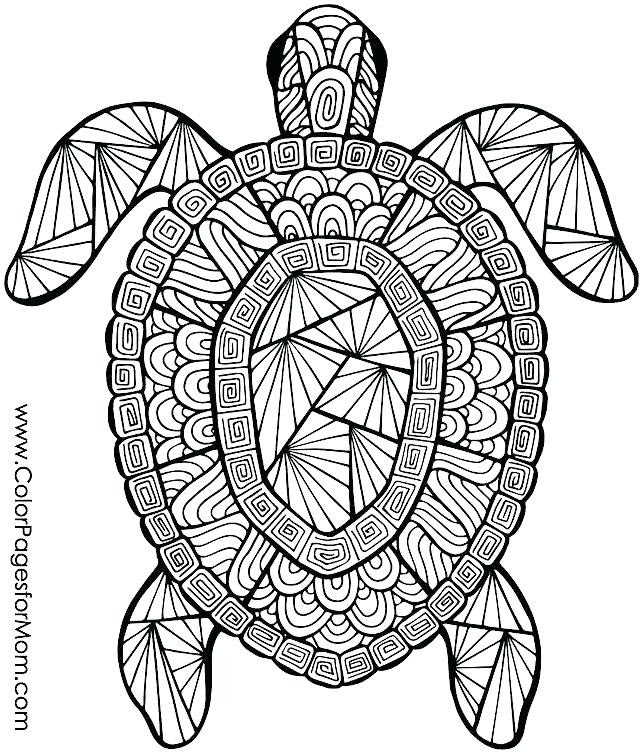 82 Top Coloring Pages Difficult Animals Images & Pictures In HD