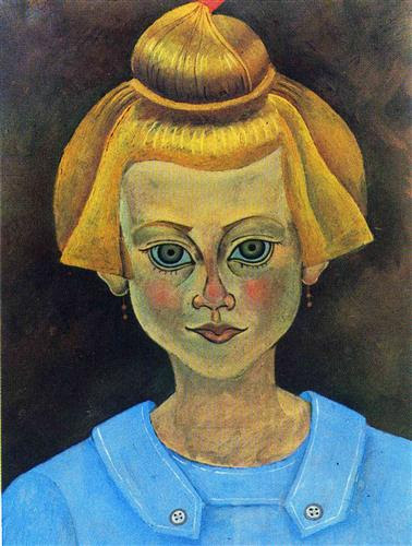 Portrait of a Young Girl  - Joan Miró