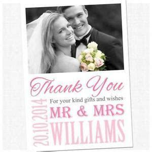 Wedding Thank You Cards   Wedding Invites & Cards   eBay