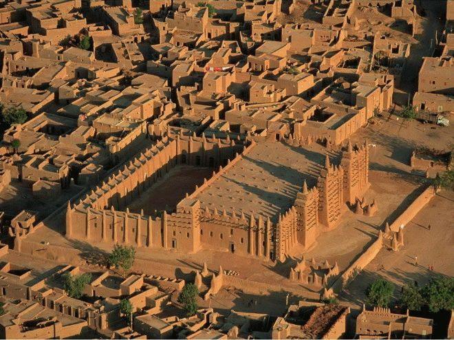 Мечеть Дженне — рекорд архитектуры