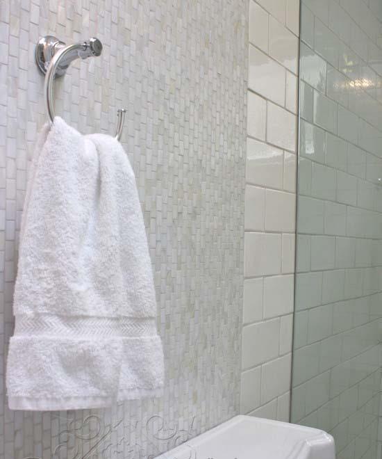 Mother Of Pearl Subway Tile Backsplash Seamless Shell Tiles Sn15252