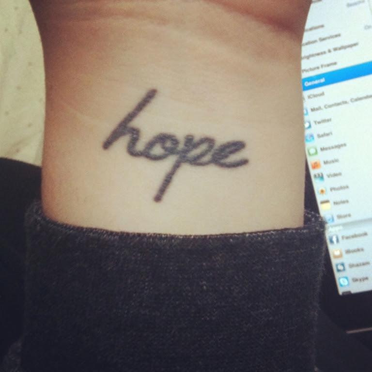 Pictures Of Hope Tattoo Designs Wrist Kidskunstinfo