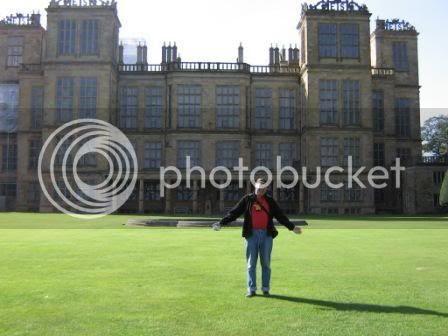 Photo by Rullsenberg: Neil at Hardwick Hall, Sept 16 2007