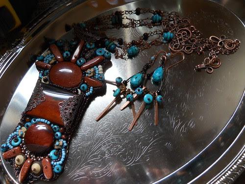 embroidery n earrings