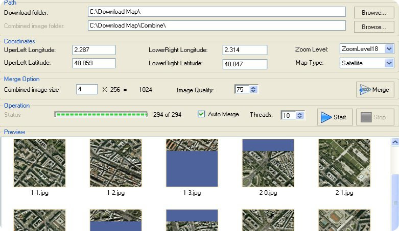 Googlemap Downloader Can Download The Image From The Maps