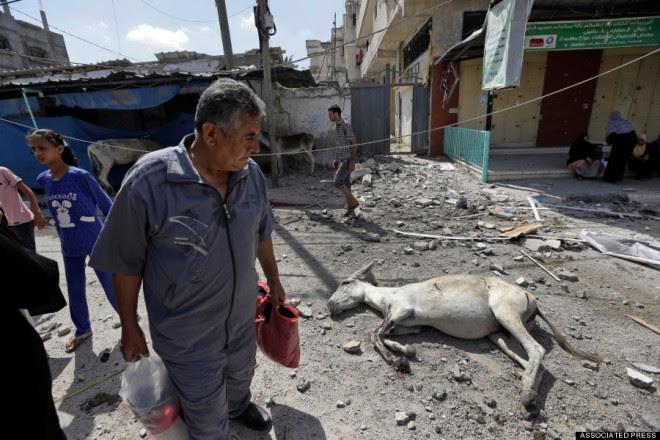 Médio Oriente Israel palestinos