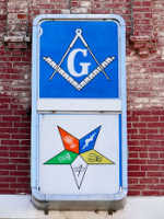 Order of the Eastern Star, Square and Compass, Freemason, Freemasonry, Freemasons, Masonic, Signals, Signs