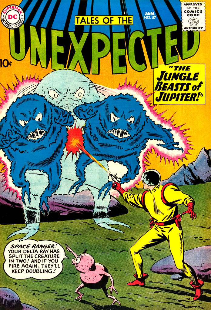 Tales of the Unexpected #57 (DC, 1961) Bob Brown cover