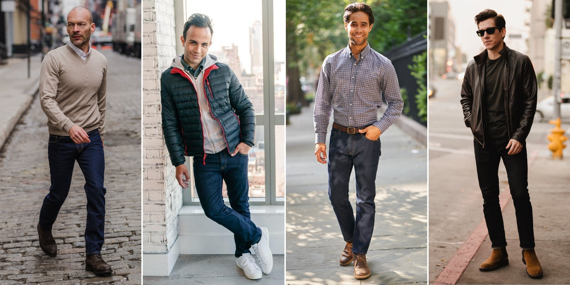 How to Wear Dark Wash Jeans (26 Outfit Ideas w/ Pictures) – Peter